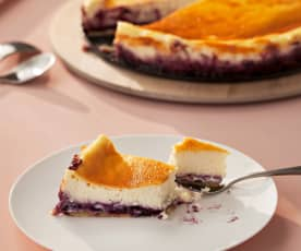 Tarta de queso (New York cheesecake)