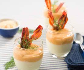 Crema de coliflor con sorpresa