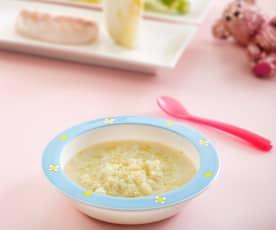 Makaron z koprem włoskim i morszczukiem (dla dzieci)