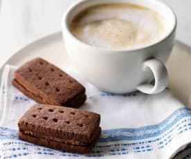Double čokoládové sušenky