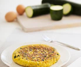 Omlet z cukinią (dla dzieci)