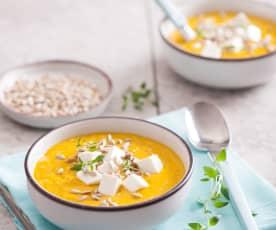 Zupa krem z marchewki, pietruszki i quinoa