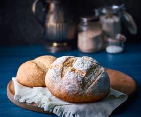 Pan de centeno con masa madre