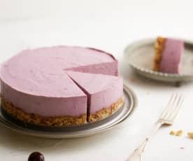 Cheesecake vegan à la cerise