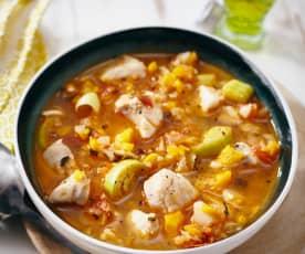 Soupe de poisson de Majorque