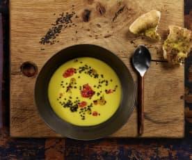 Orientalische Maissuppe