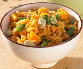 Mediterranes Reisgericht