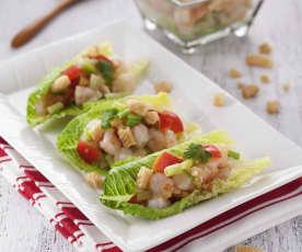 蘿蔓生菜蝦鬆