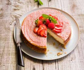 Cheesecake fraise-ricotta