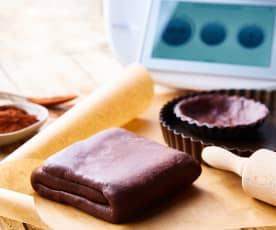 Pâte feuilletée express au cacao