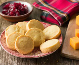 Cheese Shortbreads