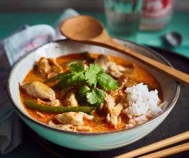 Curry-Hähnchen (红咖喱鸡)