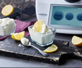 Crème fouettée au citron