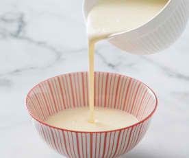 Runny custard (TM6 - 6-8 portions)