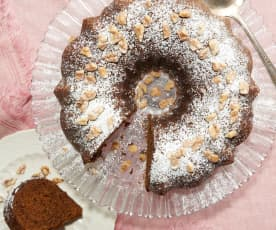 Carrot Walnut Bundt Cake