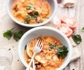Seiche à la sauce tomate
