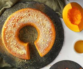 Torta zucca e Golden syrup al Varoma