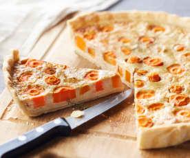 Quiche de carotte au thon