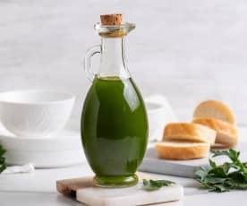 Olej aromatyzowany liśćmi selera