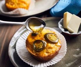 Mais-Muffins mit Jalapeño
