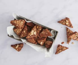 Triangles choco-cannelle
