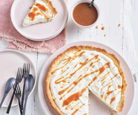 Caramel and Vanilla Pie