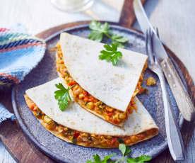Gemüse-Quesadillas