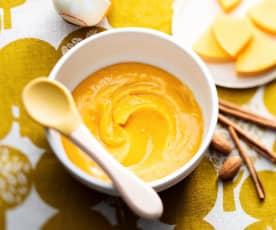 Butternut, Cinnamon and Almond Butter Purée