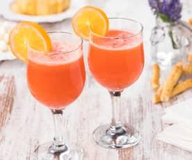 Spritz analcolico zenzero e fragole