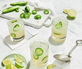 Sizzling Jalapeño Cocktail