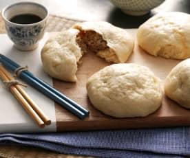 Pan al vapor relleno de cerdo (Nikuman)