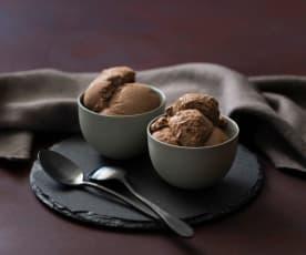 Tofu chocolate ice cream