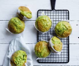 Broccoli chive muffins (10-12 months)
