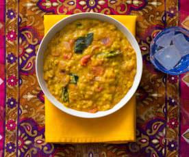 Curry z soczewicą (dal)