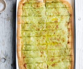 Palitos de pão de alho