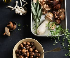 Sautéed Fresh Mushrooms (300 g)