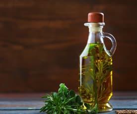 Olio alle erbe aromatiche