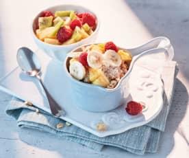 Wärmende Kokos-Porridge-Bowl