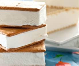 Sándwich de nata
