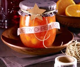 Orangen-Campari-Marmelade