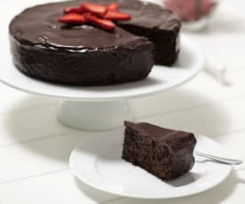 Torta caprese (flourless almond cake)