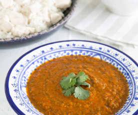 Spicy tomato salsa (dakkous)