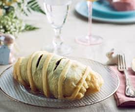 Filetto con carciofi in crosta (senza glutine)