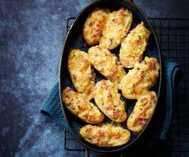 Pommes de terre farcies façon raclette