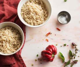 Cocción arroz integral TM6