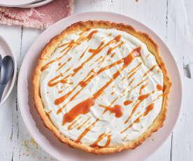 Crostata al caramello e vaniglia