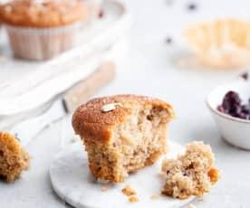 Muffins à la banane et aux canneberges