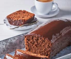 Chocolate Covered Pound Cake