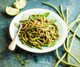 Tam Hua (Haricots verts thaïs aux cacahuètes)