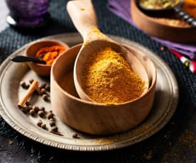 Curry en polvo etíope (Berbere)